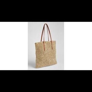 Gap Straw Tote Bag